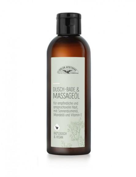 Naturkosmetik Dusch Bade & Massageöl 200 ml