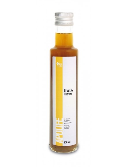ApoLife Teekonzentrat Brust/Husten 250 ml