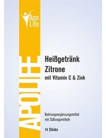 ApoLife Vitamin C Heissgetränk Zitrone 14 Stk.