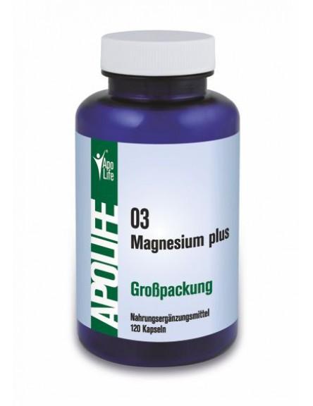 ApoLife 03 Magnesium Plus Kapseln 120 Stk.