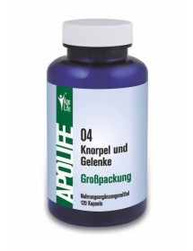 ApoLife 04 Knorpel und Gelenke Kapseln 120 Stk.