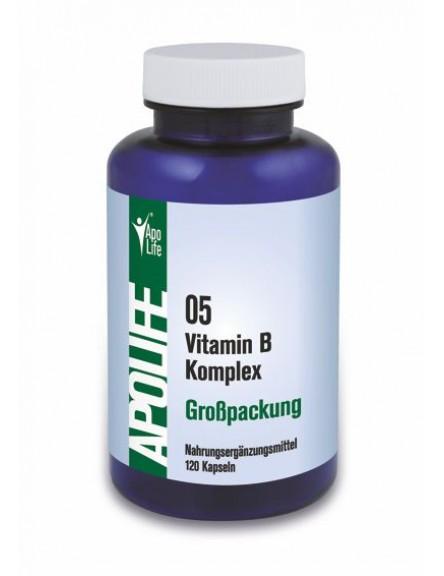 ApoLife 05 Vitamin B Komplex Kapseln 120 Stk.