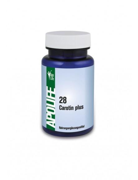 ApoLife 28 Carotin Plus Kapseln 60 Stk.
