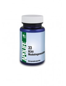 ApoLife 33 BCAA Muskelregeneration  Kapseln 60 Stk.