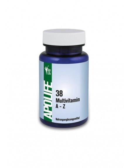ApoLife 38 Multivitamin A-Z Kapseln 60 Stk.