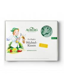 AUBERG Dr. Klade's Wichtel-Kissen Wärmekissen Set grün