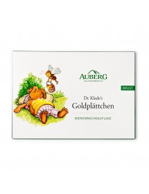 AUBERG Dr. Klade's Goldplättchen Bienenwachsauflage 3 Stück
