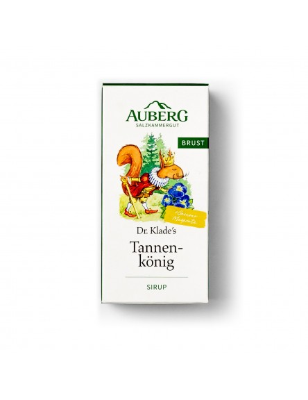 AUBERG Dr. Klade's Brustsirup Tannenkönig 100 ml