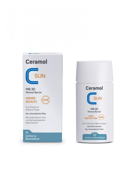 Ceramol Sun MB 30 Mineral Barrier Fluid 50 ml