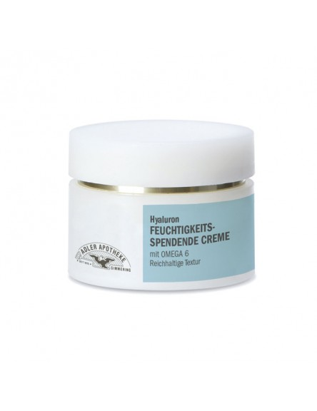 Hyaluron Feuchtigkeitsspendende Creme reichhaltige Textur 50 ml