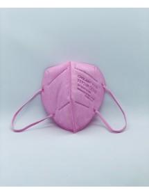Mund Schutzmaske FFP2 Rosa 1 Stück