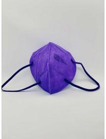 Mund Schutzmaske FFP2 Lila 1 Stück