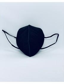 Mund Schutzmaske FFP2 Schwarz 1 Stück