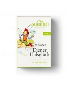 AUBERG Dr. Klade`s Diener Halsglück Fussbadesalz 250g